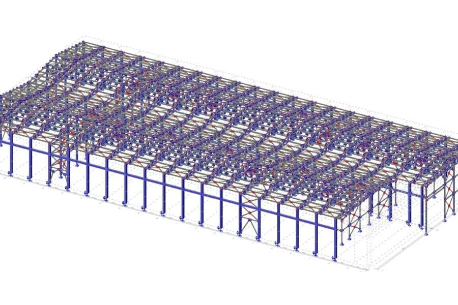 Přístavba průmyslové haly pro DGS Druckguss Systeme, Liberec
