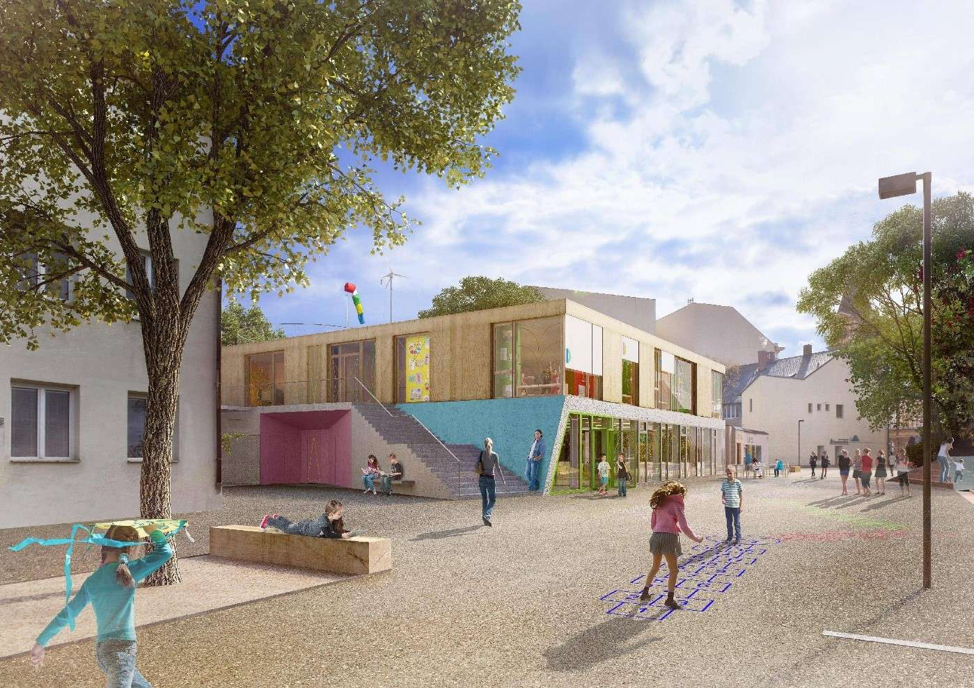 Brex staví v Mnichově Hradišti moderní komunitní centrum